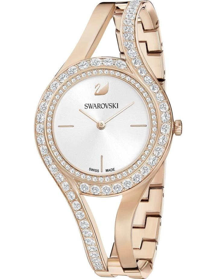 Eternal Watch - Metal Bracelet - White - Champagne-Gold Tone Pvd image 1