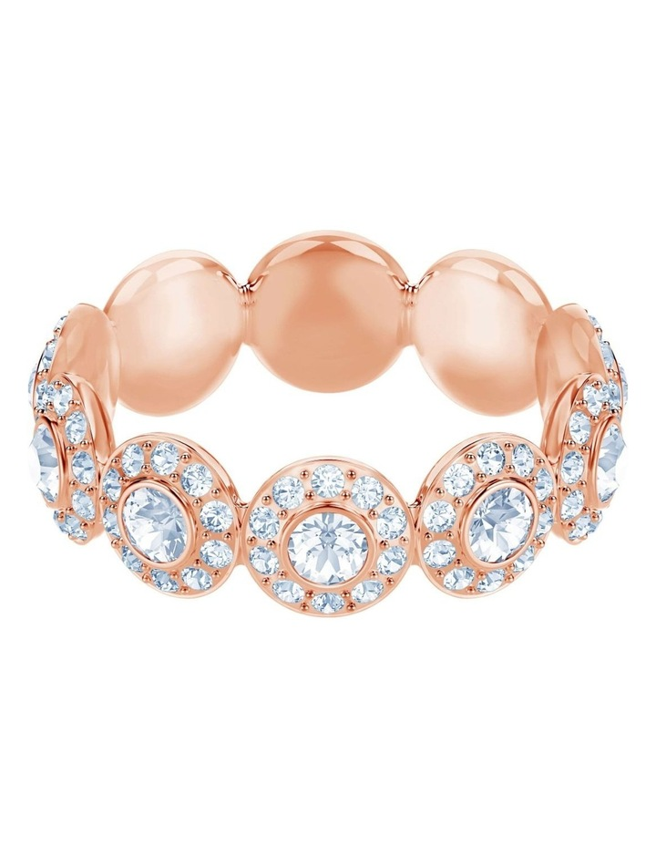 Angelic Ring - White - Rose-gold Tone Plated L image 1