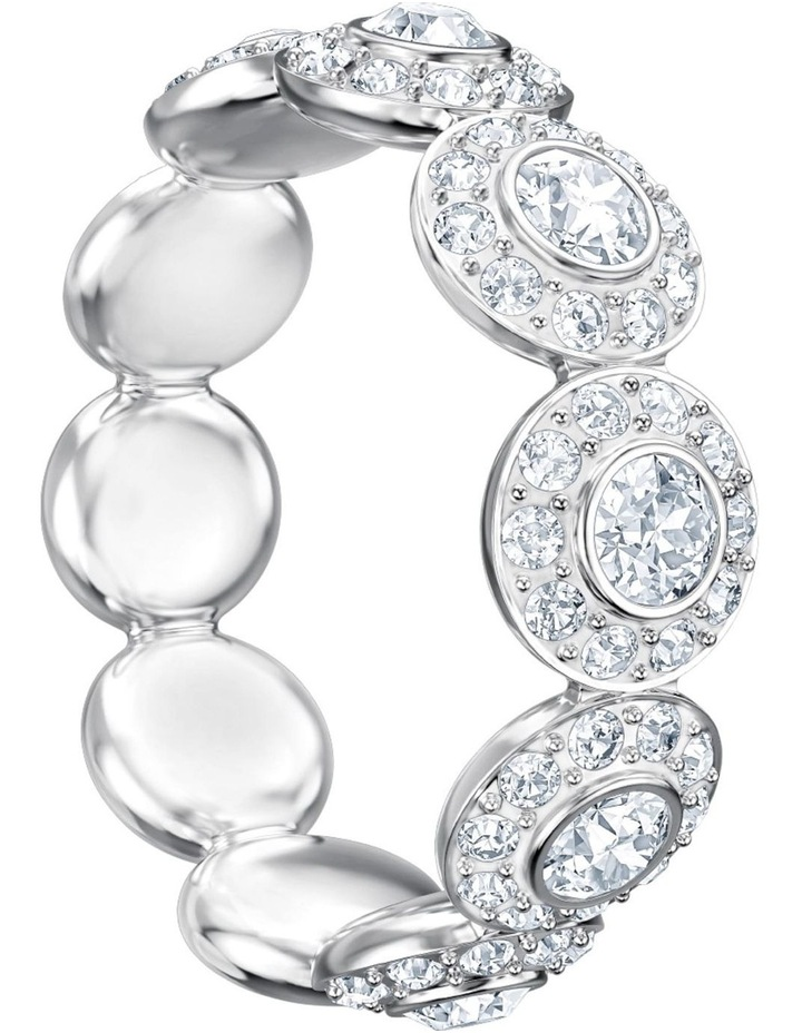 Angelic Ring - White - Rhodium Plated M image 3