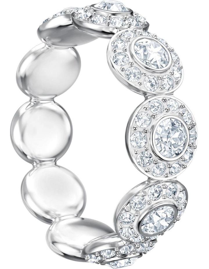 Angelic Ring - White - Rhodium Plated XL image 3