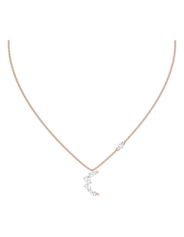 Penélope Cruz Moonsun Necklace - White - Rose-gold Tone Plated image 1