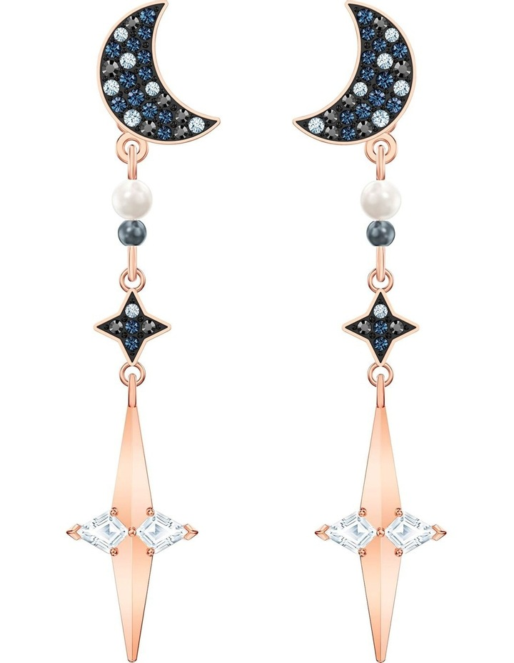 Symbolic Pierced Earring Jackets - Multi-colored - Mixed Metal Finish image 1