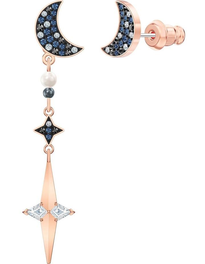 Symbolic Pierced Earring Jackets - Multi-colored - Mixed Metal Finish image 3