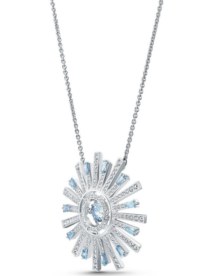 Sunshine Necklace - Blue - Rhodium Plated image 3