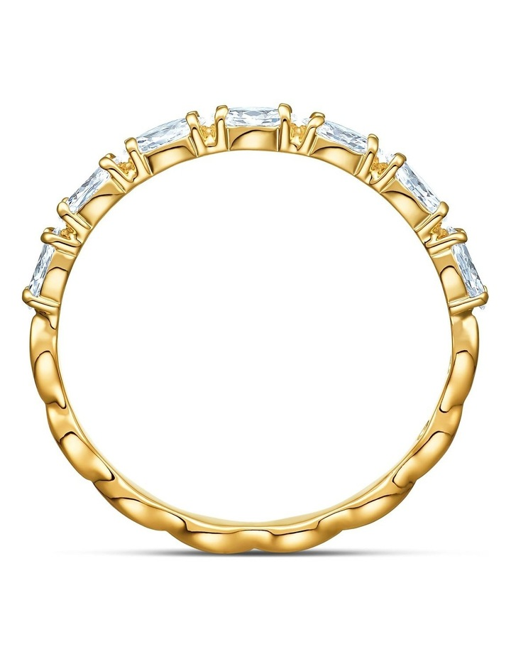 Vittore Marquise Ring - White - Gold-tone Plated 55mm image 2