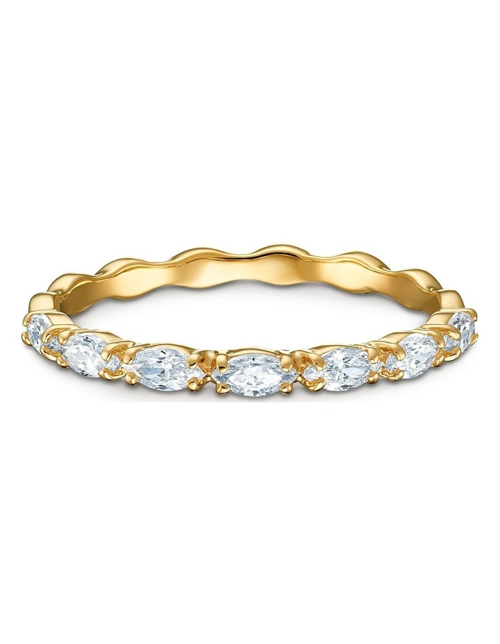 Vittore Marquise Ring - White - Gold-tone Plated 58mm image 1
