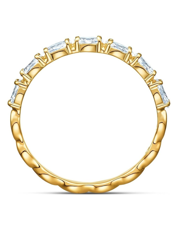 Vittore Marquise Ring - White - Gold-tone Plated 58mm image 2