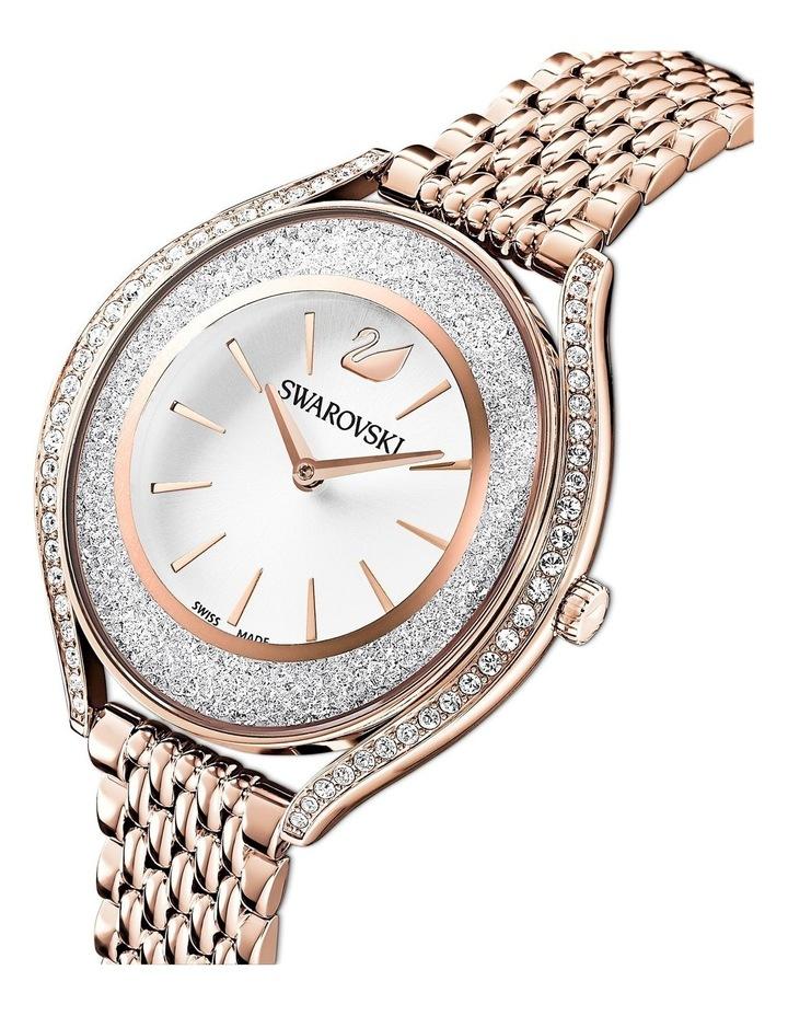 Crystalline Aura Watch - Metal Bracelet - Rose Gold Tone - Rose-gold Tone Pvd image 4