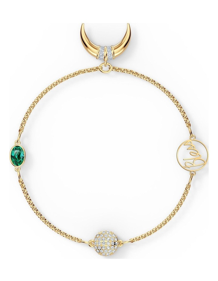 Remix Collection Horn Strand - Green - Gold-tone Plated image 1