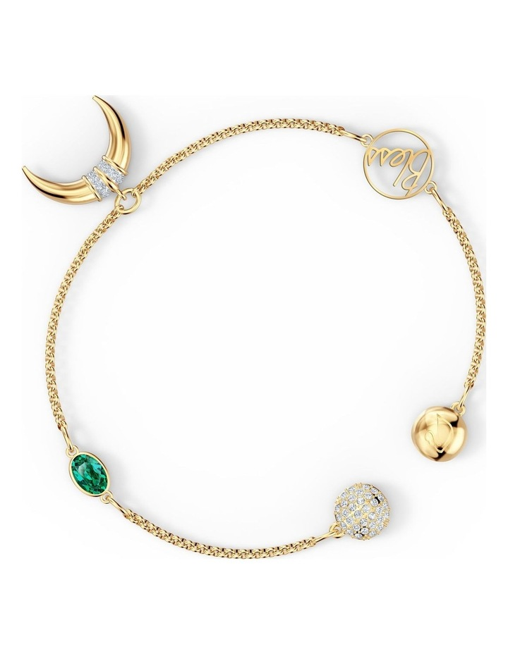Remix Collection Horn Strand - Green - Gold-tone Plated image 3