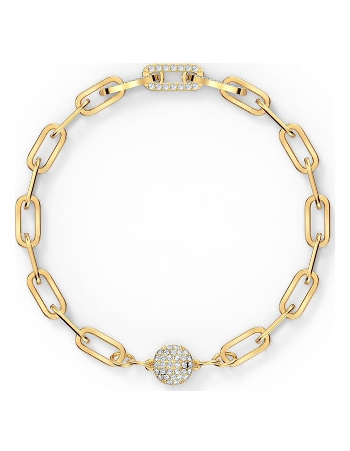 The Elements Chain Bracelet - White - Gold-tone Plated image 1