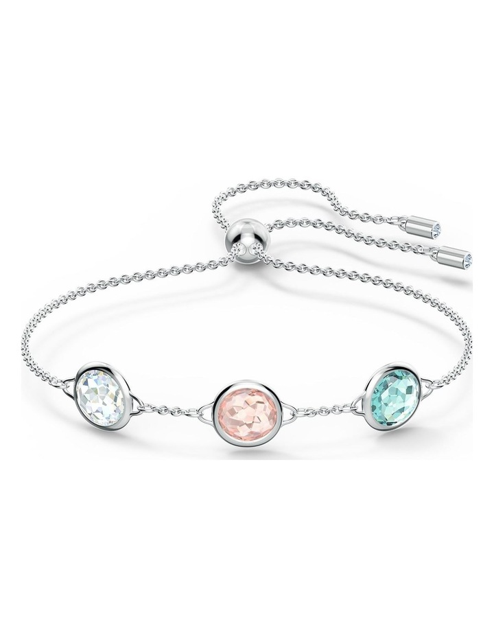 Tahlia Bracelet - Multicolored - Rhodium Plated image 1