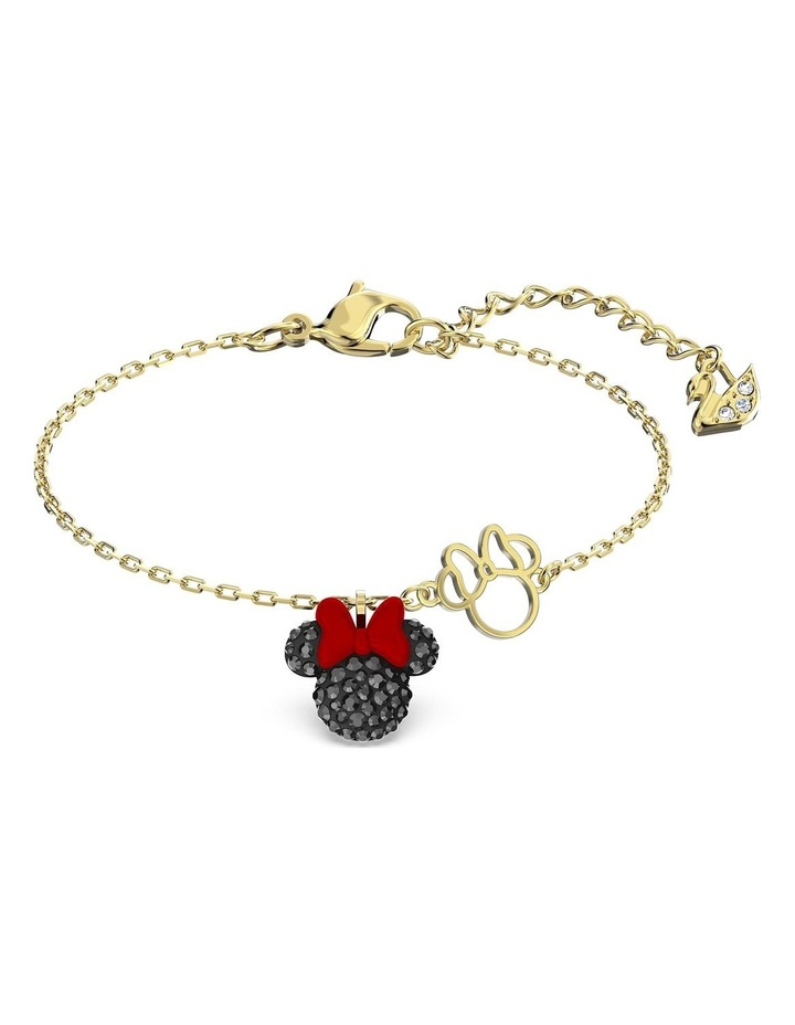Minnie Bracelet - Black - Gold-tone Plated image 1