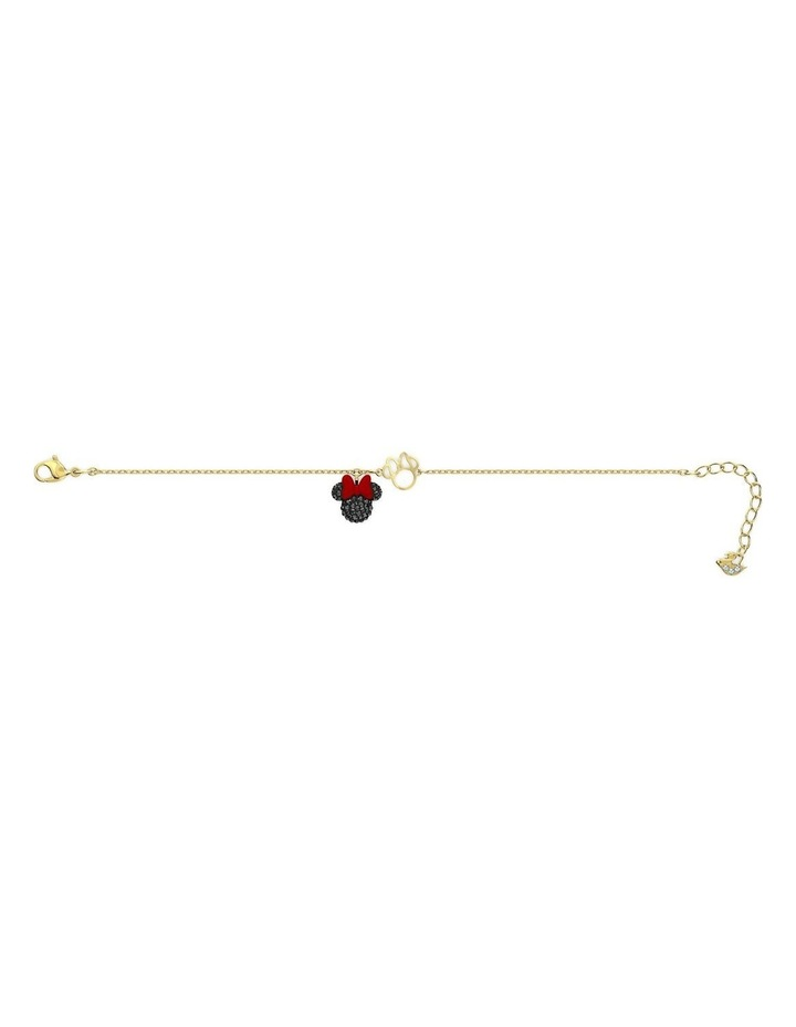 Minnie Bracelet - Black - Gold-tone Plated image 2