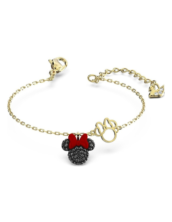 Minnie Bracelet - Black - Gold-tone Plated image 3