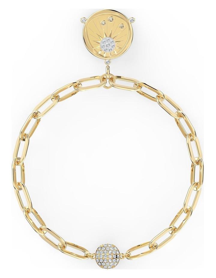 The Elements Sun Bracelet - White - Gold-tone Plated image 1