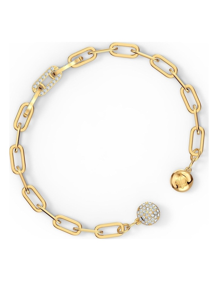The Elements Chain Bracelet - White - Gold-tone Plated image 3