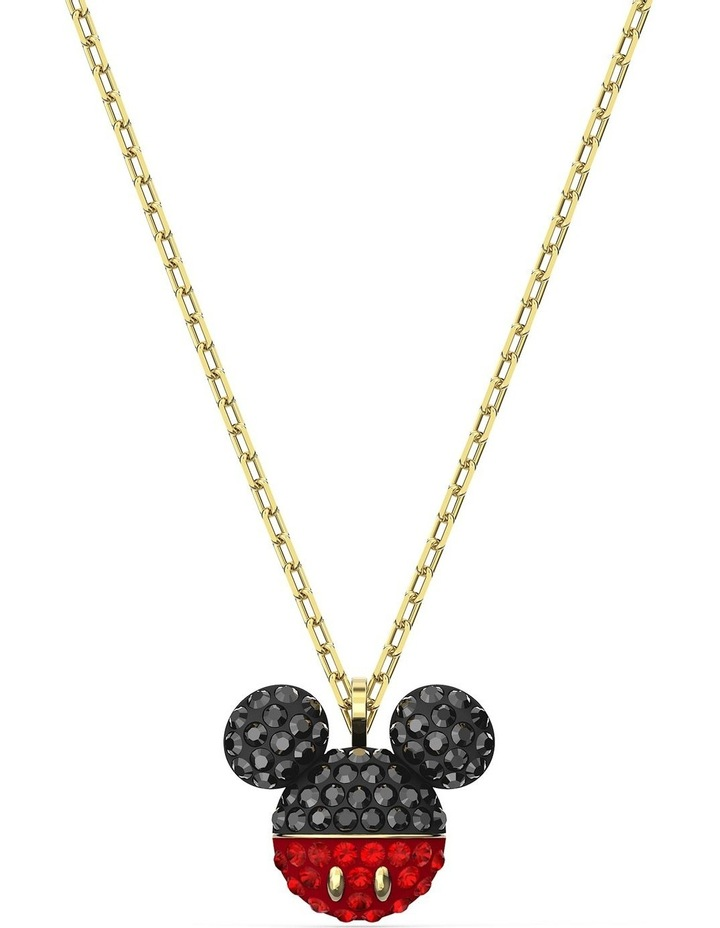 Mickey Pendant - Black - Gold-tone Plated image 1
