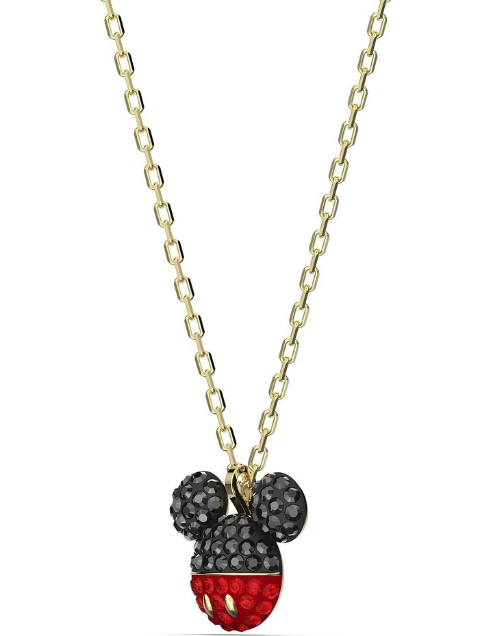 Mickey Pendant - Black - Gold-tone Plated image 3