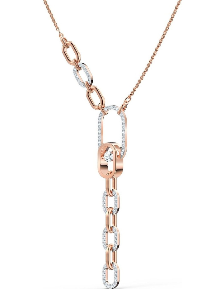Sparkling Dance North Y Necklace - White - Mixed Metal Finish image 3