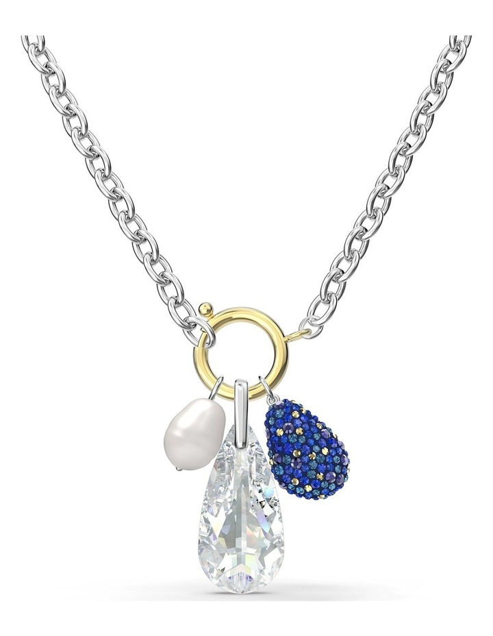 The Elements Necklace - Blue - Mixed Metal Finish image 1