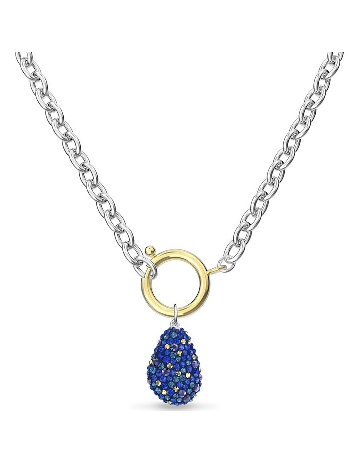 The Elements Necklace - Blue - Mixed Metal Finish image 4