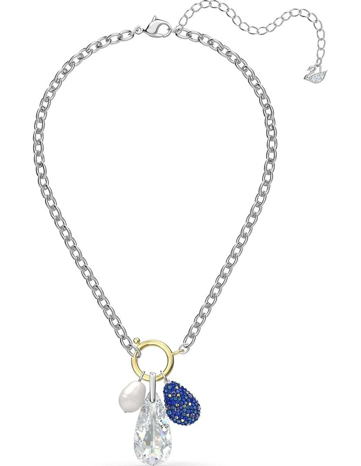 The Elements Necklace - Blue - Mixed Metal Finish image 5