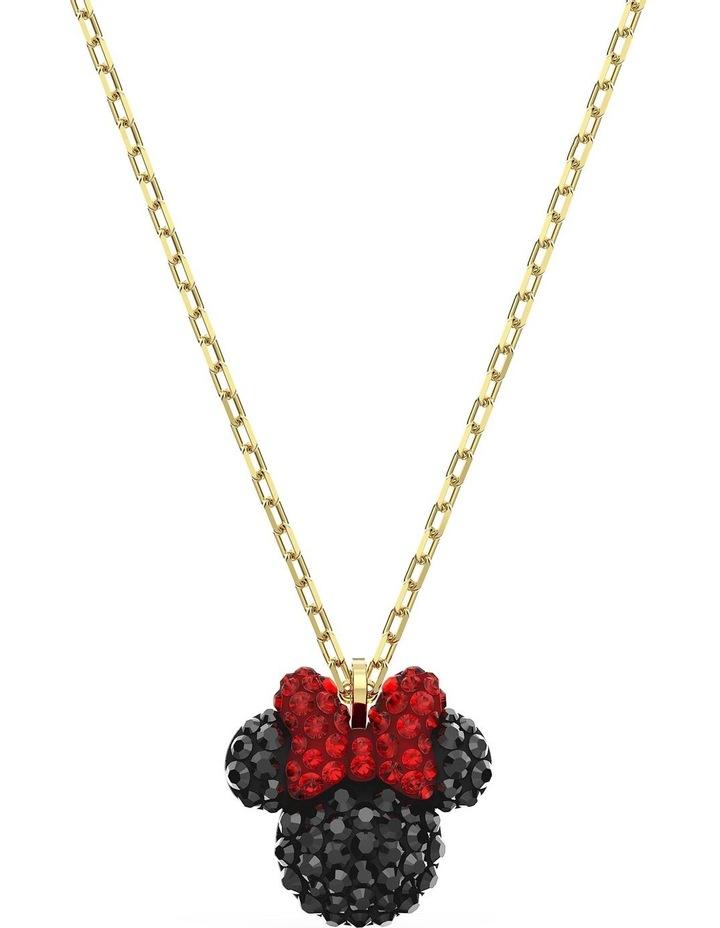 Minnie Pendant - Black - Gold-tone Plated image 1