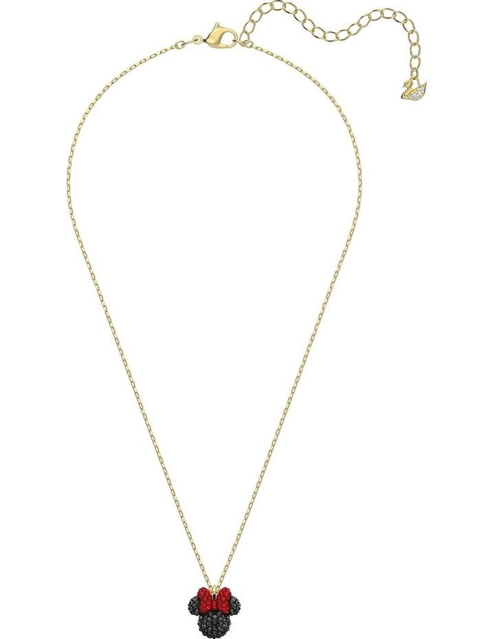Minnie Pendant - Black - Gold-tone Plated image 2