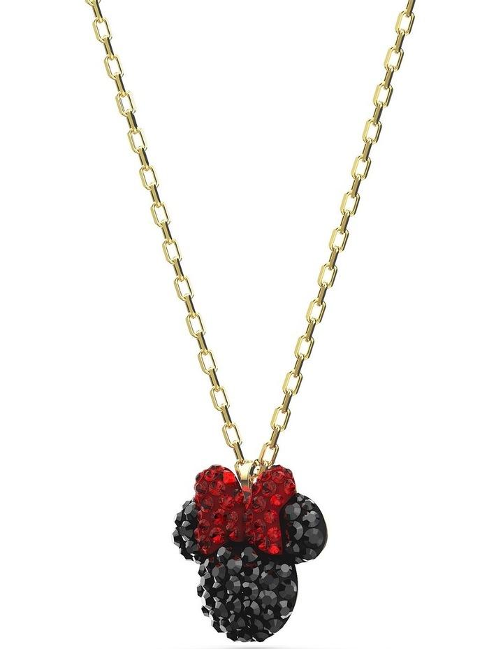 Minnie Pendant - Black - Gold-tone Plated image 3