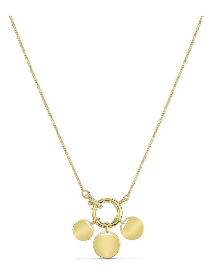 Ginger Charm Necklace - White - Gold-tone Plated image 6