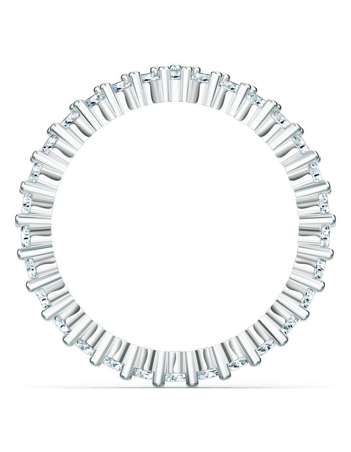 Vittore V Ring - White - Rhodium Plated 60mm image 2