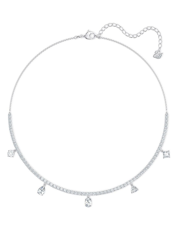 Tennis Deluxe Mixed Set - White - Rhodium Plated image 2