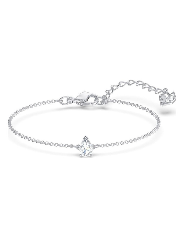 Tennis Deluxe Mixed Set - White - Rhodium Plated image 3