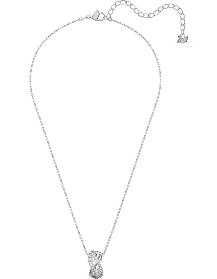 Twist Set - White - Rhodium Plated image 2