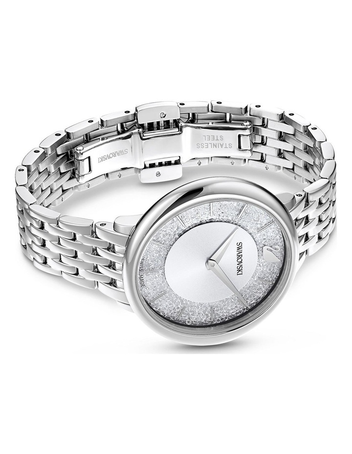 Crystalline Chic Silver Stainless Steel Analog Watch image 3