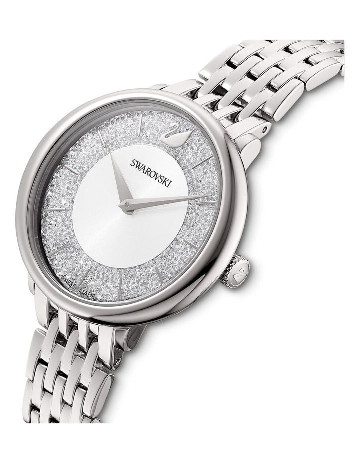 Crystalline Chic Silver Stainless Steel Analog Watch image 4