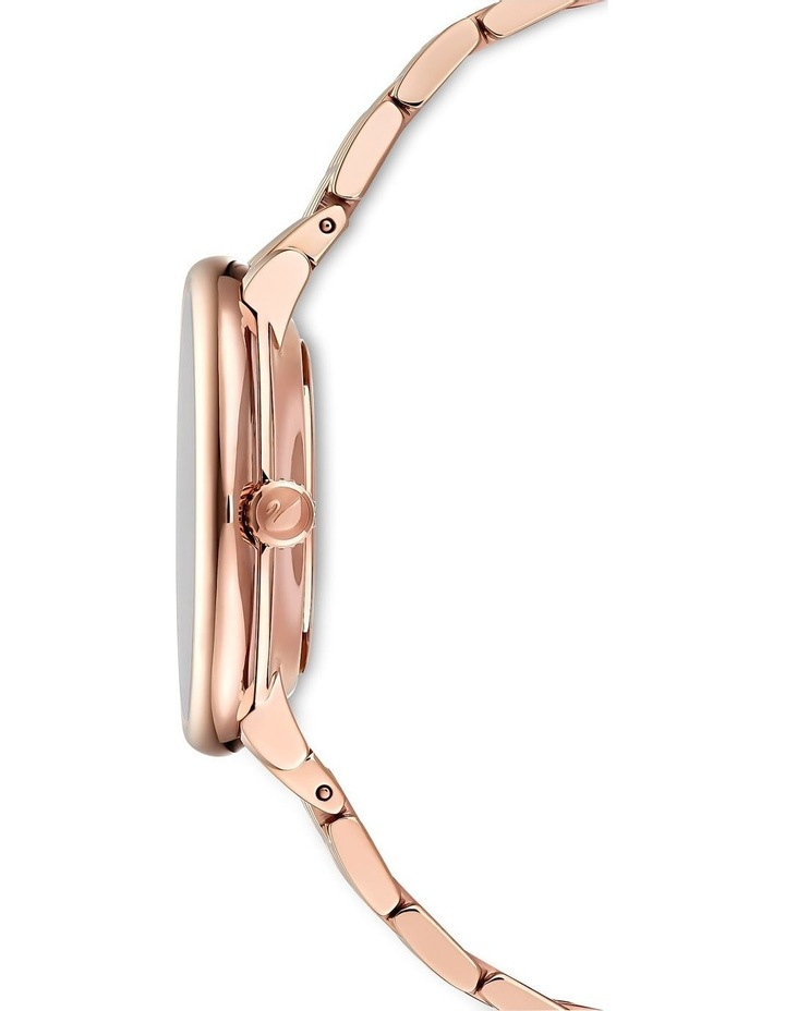 Crystalline Chic Rose Gold Stainless Steel Luxury Watch image 2