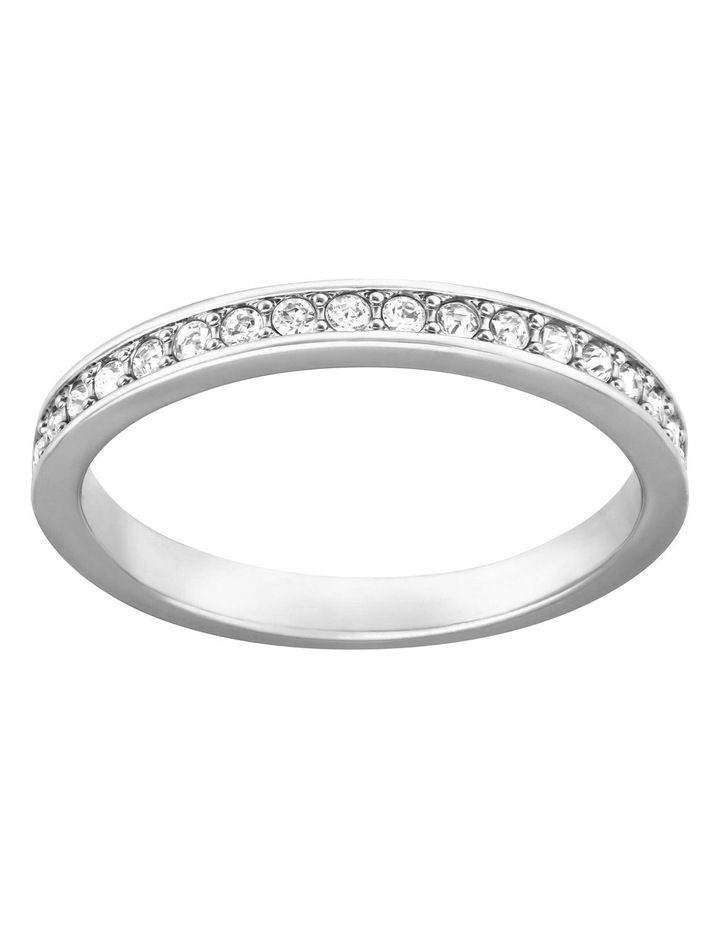 Rare Ring - White - Rhodium Plated 52mm image 1