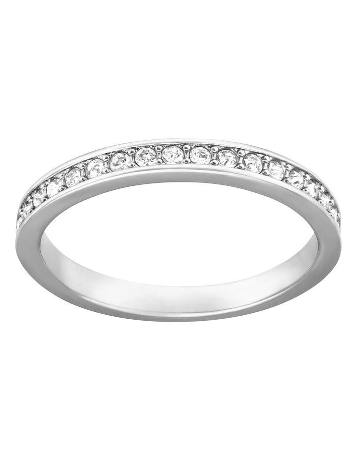 Rare Ring - White - Rhodium Plated 55mm image 1