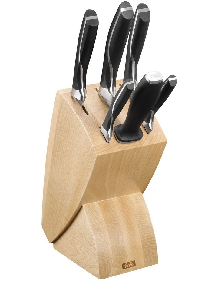 Perfection Knife Block with 5 Knives & Sharpening Steel image 1