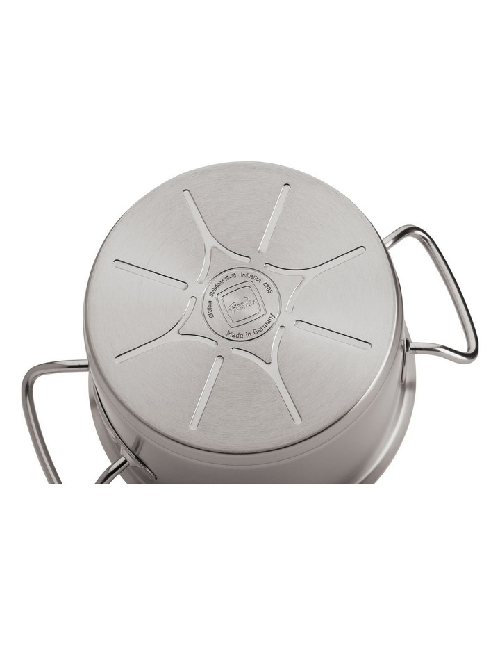 Original Profi Collection 20cm/2.6ltr Stainless Steel Saucepan with Metal Lid image 2