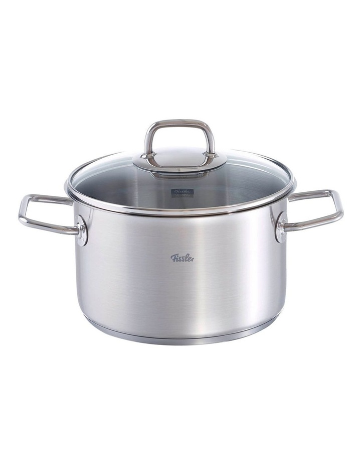 Viseo 20cm/3.6lt Stainless Steel Stewpot With Glass Lid image 1