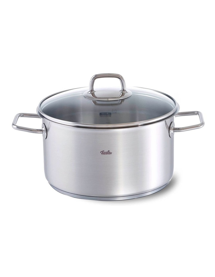 Viseo 24cm/5.7L Stainless Steel Stewpot With Glass Lid image 1