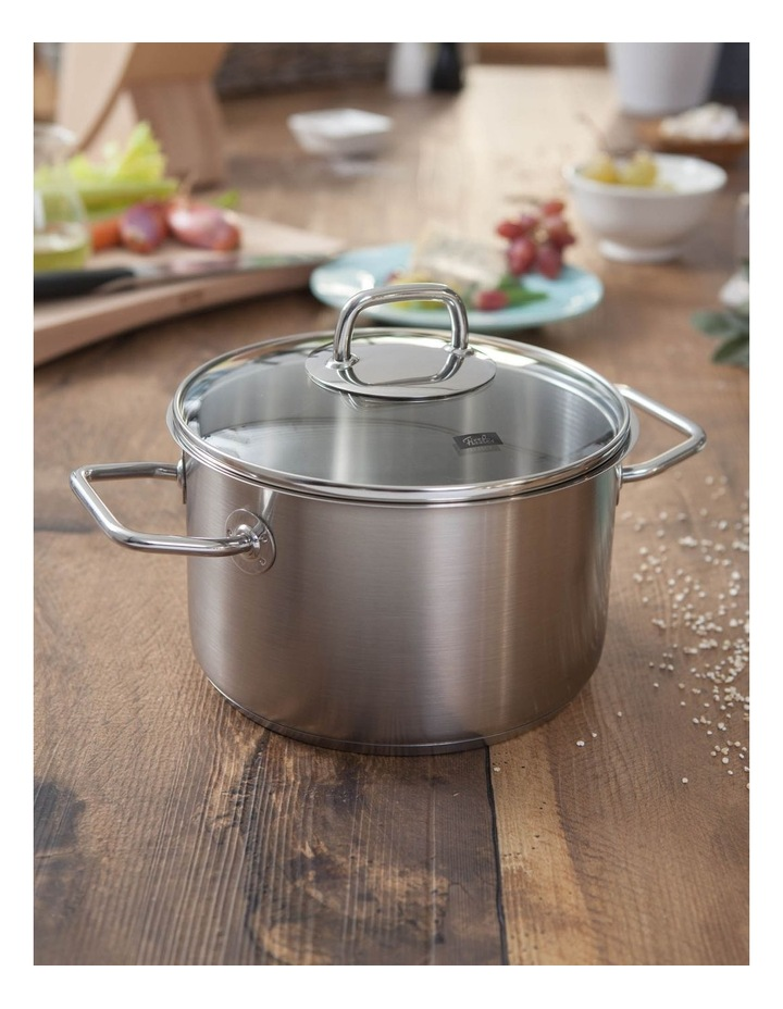Viseo 24cm/5.7L Stainless Steel Stewpot With Glass Lid image 2