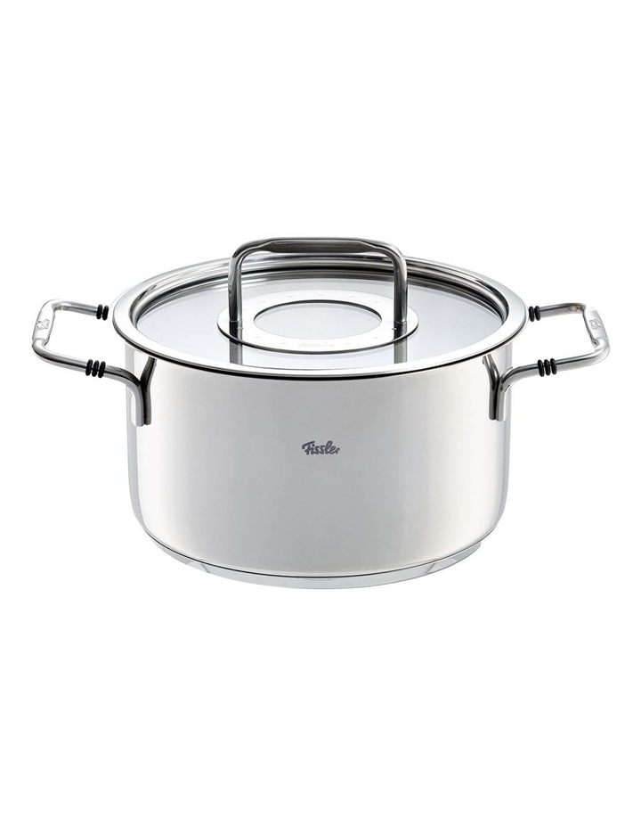 Bonn 20cm/3.6L Stainless Steel Stew Pot With Glass Lid image 1