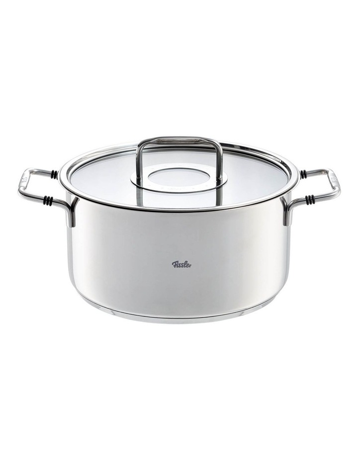 Bonn 24cm/5.7ltr Stainless Steel Stew Pot With Glass Lid image 1