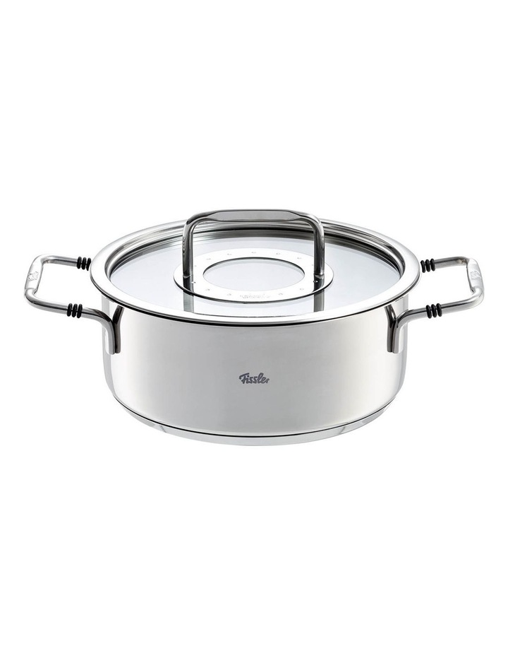Bonn 20cm /2.4 Ltr Stainless Steel Casserole With Glass Lid image 1