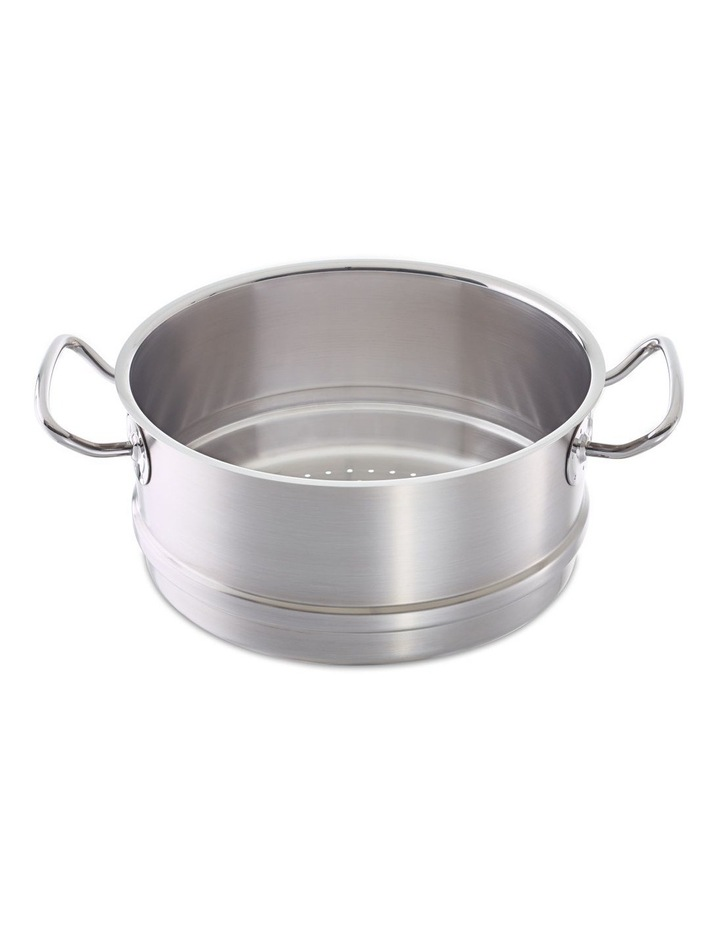 Pro Collection 24cm Stainless Steel Steamer 00067 image 1
