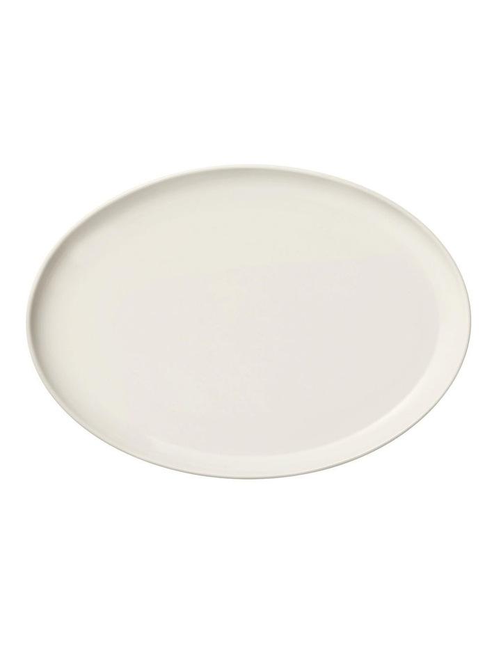 Essence White Oval Plate 25cm image 1